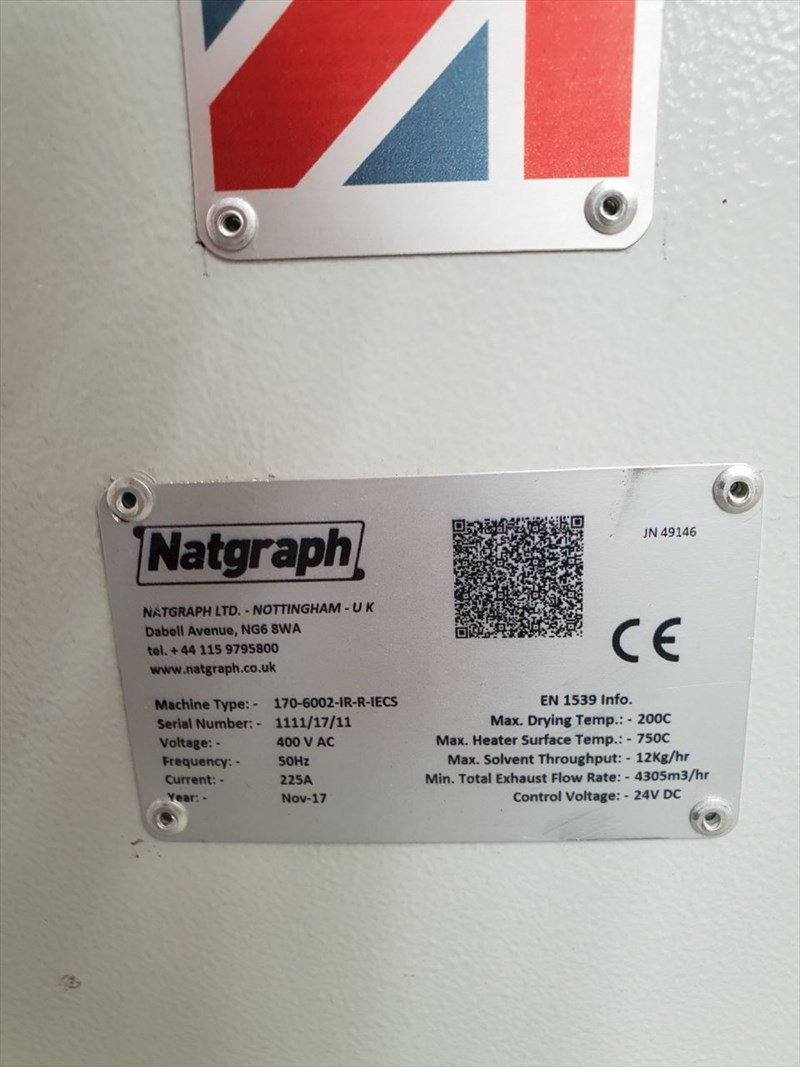 Natgraph Air Force Dryers Model 170 Oven