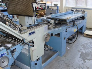 MBO B123 4/4 Folding Machine
