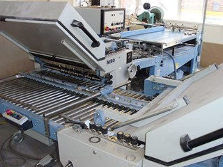 MBO B30 4/4/Z Folding Machine