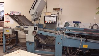 MBO B30-4/4/4 section folder- 1990 Folding machines