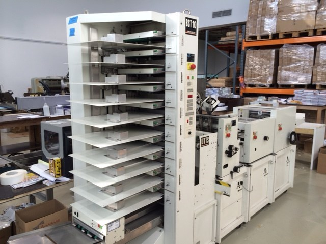 Show details for 1999 CP Bourg 10st collator/stitch/trim/fold