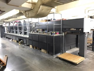 Heidelberg CD 102-5+LX Machines offset à feuilles