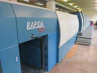 KBA Rapida RA105-8+LX Sheet Fed
