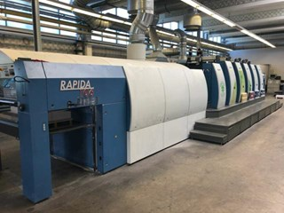 KBA Rapida 106-SIS-5+L CX FAPC ALV2 单张纸胶印机