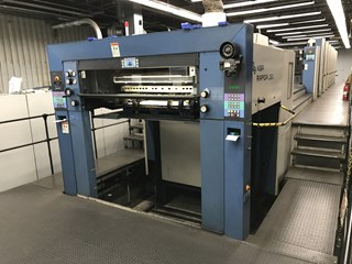 KBA RA 130A 7+LV 单张纸胶印机