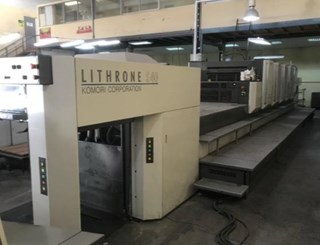 Komori Lithrone LS540+CX Sheet Fed