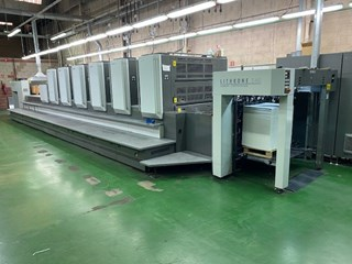 Komori Lithrone LS640H+LX Sheet Fed