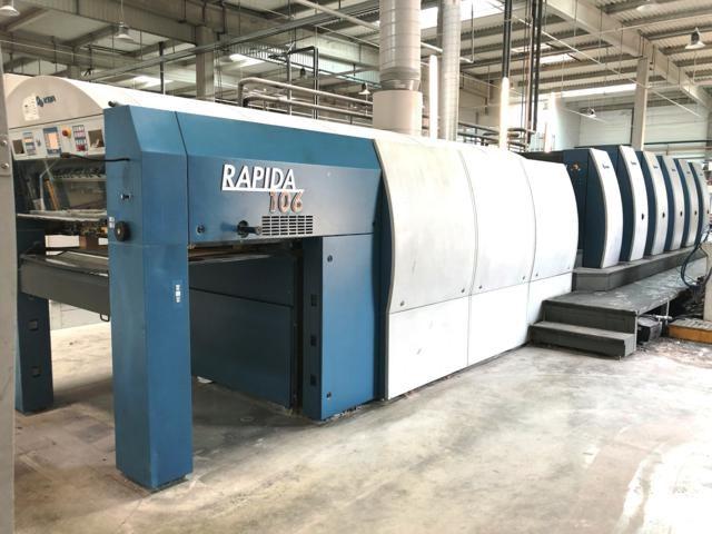 KBA Rapida 106-5+L ALV2