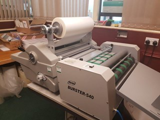 GMP Burster 540 Finishing
