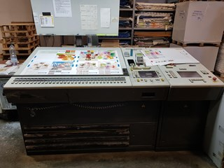 Heidelberg Speedmaster SM102FP Sheet Fed