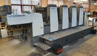 Komori Lithrone L426ES Sheet Fed