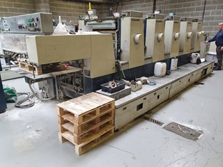 Komori Lithrone L528II Sheet Fed