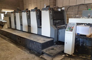 Komori Lithrone L528EM Machines offset à feuilles