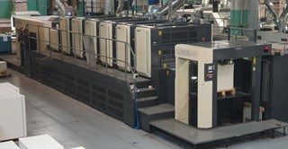 Komori Lithrone LSX640+C Machines offset à feuilles