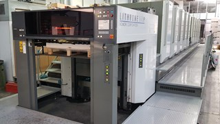 Komori Lithrone L1040 Sheet Fed