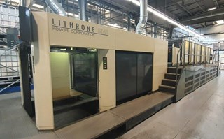 Komori Lithrone LSX640+C Sheet Fed