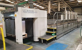 Komori Lithrone LS640H+C Offset de pliegos
