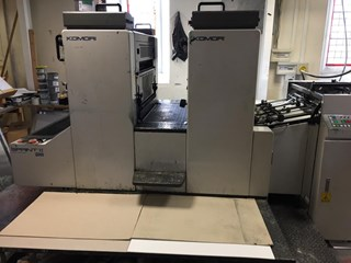 Komori Spri S-28 Sheet Fed