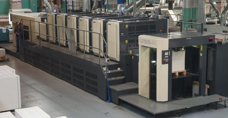 Show details for Komori Lithrone LSX640+C