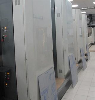 Komori System 38 Prensas Rotativas Comerciales