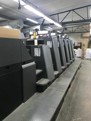 Heidelberg  Speedmaster CD 74 5+LX (C) Sheet Fed