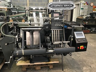 Heidelberg  GT Platen   Foil Conversion Foil Blockers