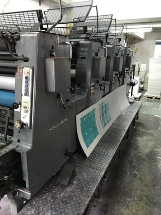Heidelberg  MOV S Sheet Fed