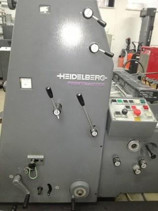 Heidelberg  Printmaster PM GTO 52 1+NP 单张纸胶印机