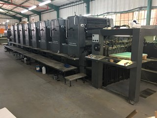 Heidelberg Speedmaster SM 102-8P Sheet Fed