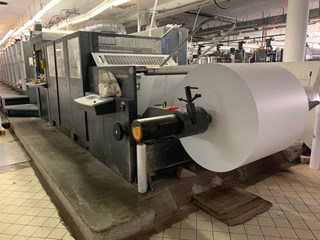 2007 Heidelberg Speedmaster SM 102-8P+LX (8+0 / 4+4) with CutStar Sheet Fed