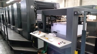 Heidelberg SM 102-8P Sheet Fed