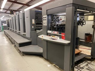 Heidelberg  Speedmaster SM 102 5P+L Sheet Fed