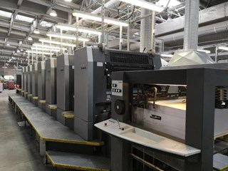 Heidelberg  Speedmaster SM 102 8P S Sheet Fed
