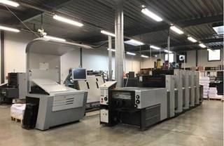 Heidelberg  Speedmaster SX 52 4+LX Anicolor 单张纸胶印机
