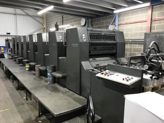 Heidelberg  Speedmaster SM 74 8P Sheet Fed