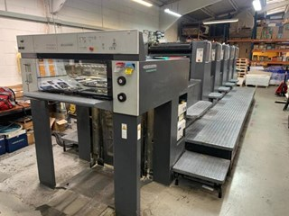 Heidelberg  Speedmaster SM 74 5P Sheet Fed