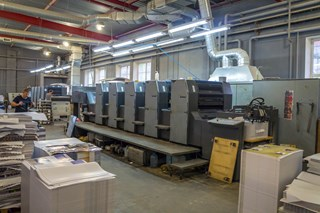 Heidelberg SM 74-5P Sheet Fed