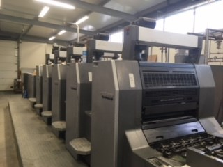 Heidelberg SM 74-5P+L Sheet Fed