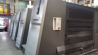 Heidelberg  Speedmaster XL 105 5 Offset de pliegos