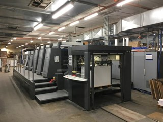 Heidelberg  Speedmaster XL 105 5 Sheet Fed