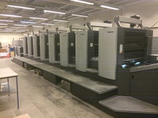 Heidelberg Speedmaster SX102-8P Sheet Fed