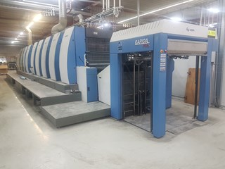 KBA Rapida RA106 4+T+4 SW HR UV    4+4 / 8+0 Machines offset à feuilles