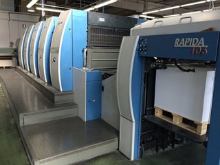 KBA Rapida 106-5 Sheet Fed