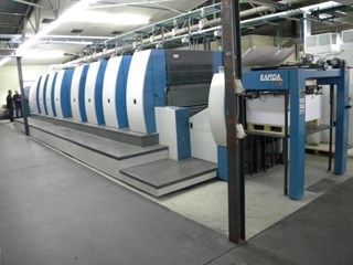 KBA  Rapida RA105 8 SW Machines offset à feuilles