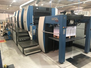 KBA Rapida RA130a-4 Sheet Fed