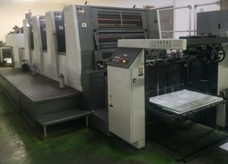 Komori  Lithrone A437 Sheet Fed