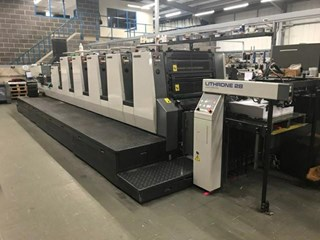 Komori Lithrone NL528+C EM Sheet Fed