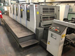 Komori  Lithrone LS529+C (H) Sheet Fed