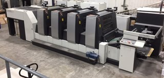 Komori  GL 429 HUV Sheet Fed