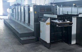 Komori  Lithrone LS529+C Sheet Fed
